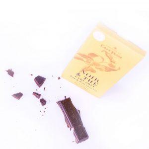 Ciocolată neagră cu ceai negru