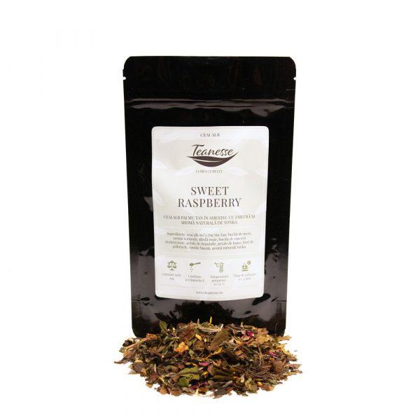 ceai alb sweet-raspberry